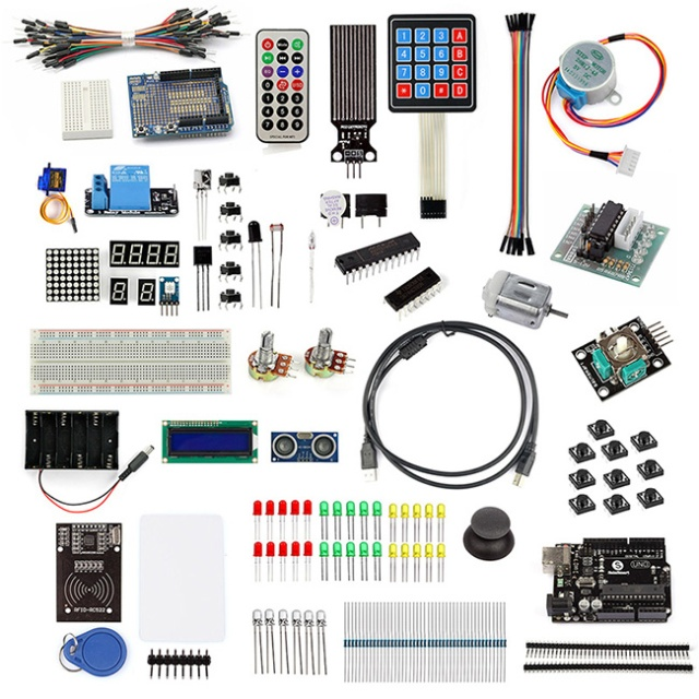 Arduino accessories components detail applications